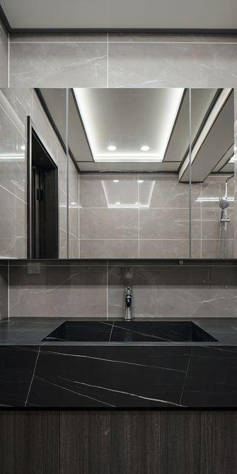 120平米三室一厅现代简约风格卫生间图片大全