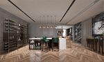 140平米四室一厅英伦风格餐厅欣赏图