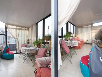 110平米美式风格阳台设计图