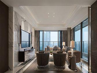 100平米三室三厅法式风格客厅图片大全