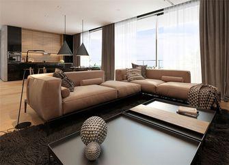 富裕型70平米现代简约风格客厅欣赏图