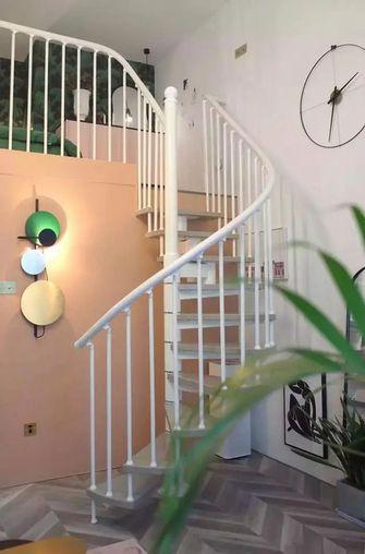 30平米小户型英伦风格楼梯间效果图