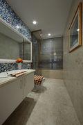 120平米三室一厅新古典风格卫生间设计图