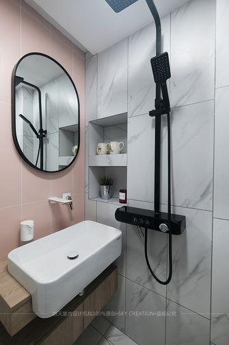 富裕型50平米北欧风格卫生间装修图片大全