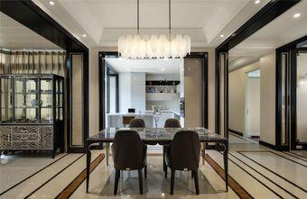 110平米四室两厅法式风格餐厅欣赏图