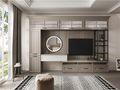 120平米三室一厅中式风格客厅效果图