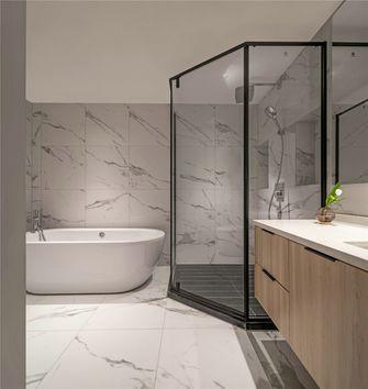 140平米别墅现代简约风格卫生间图片