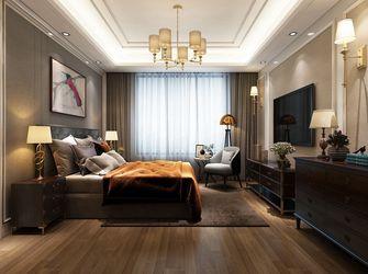 140平米三室三厅法式风格卧室图片