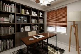 80平米三現代簡約風格書房裝修案例