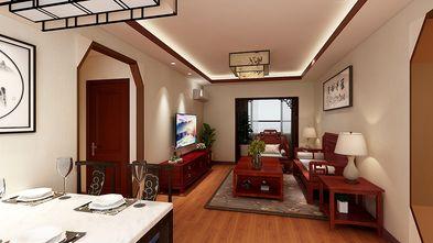 60平米三室一厅中式风格客厅图片