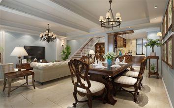 140平米复式美式风格餐厅装修案例