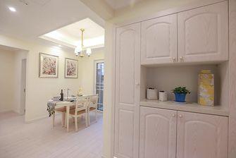 90平米三室两厅田园风格玄关图片大全