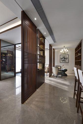 120平米一室一厅中式风格玄关图片大全