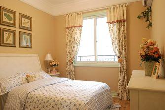 110平米田园风格卧室装修图片大全