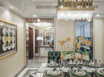 130平米四室一厅新古典风格餐厅效果图