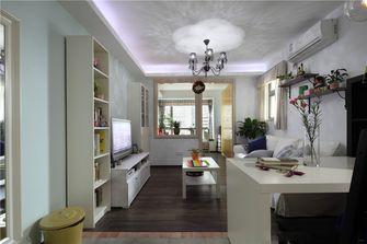 90平米三室一厅混搭风格客厅图片大全