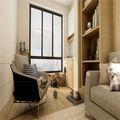 50平米一室一厅日式风格书房欣赏图