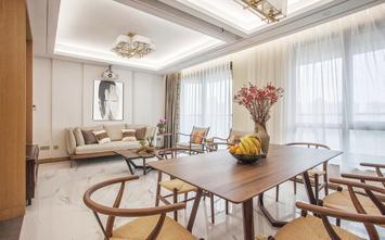 10-15万120平米三室三厅中式风格客厅飘窗装修效果图