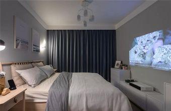 70平米三宜家风格卧室装修案例