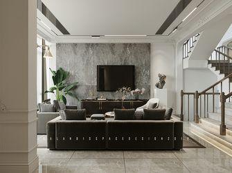 110平米四室五厅现代简约风格客厅装修案例