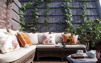 10-15万120平米三室两厅美式风格阳台装修图片大全