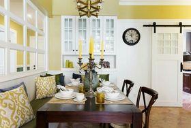 120平米四室兩廳美式風格餐廳設計圖