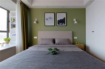 90平米三室四厅北欧风格卧室图