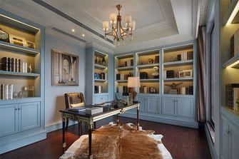 100平米别墅英伦风格书房设计图
