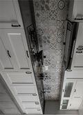 140平米三室一厅新古典风格厨房效果图