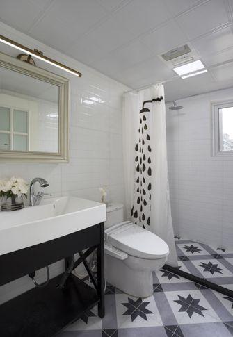 100平米美式风格卫生间装修图片大全
