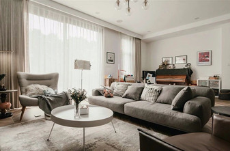 80平米三室两厅宜家风格客厅图片大全