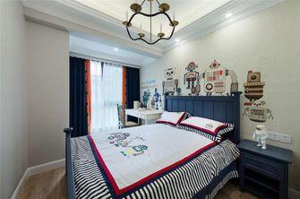 130平米复式美式风格卧室图片大全