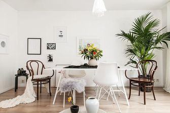 50平米一居室北欧风格餐厅设计图