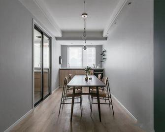 120平米三室两厅北欧风格餐厅图片