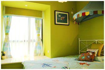 豪华型80平米英伦风格儿童房效果图