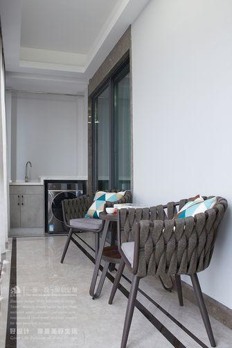 140平米四室四厅现代简约风格阳台装修效果图