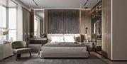 140平米三室一厅中式风格卧室装修效果图