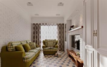 70平米美式风格客厅图片大全