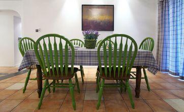 120平米三地中海风格餐厅装修案例