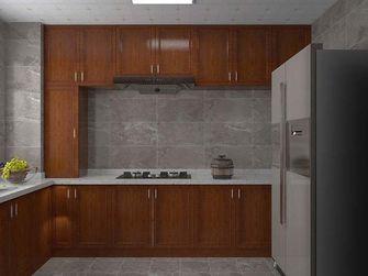 130平米三中式风格厨房设计图