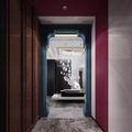 140平米复式英伦风格走廊装修案例