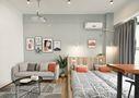 30平米以下超小户型宜家风格卧室设计图