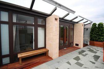 110平米中式风格阳台设计图