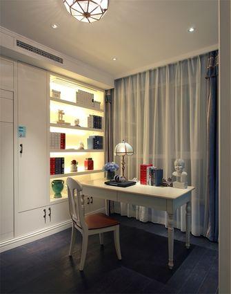 140平米三室两厅地中海风格餐厅图片