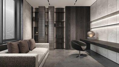 100平米三室两厅现代简约风格书房图
