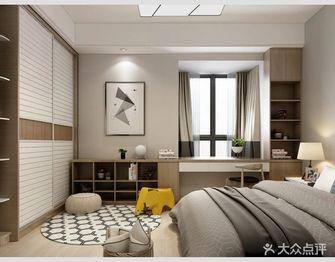 120平米三室一厅中式风格卧室装修图片大全