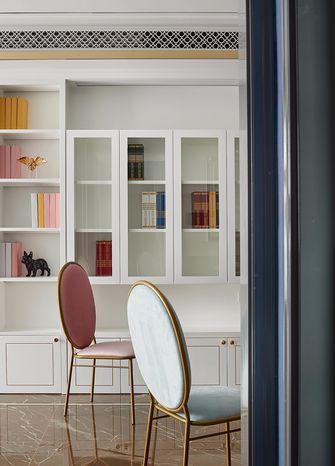 80平米一室两厅法式风格书房装修图片大全
