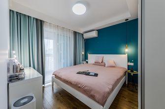 富裕型80平米三室两厅北欧风格卧室装修图片大全