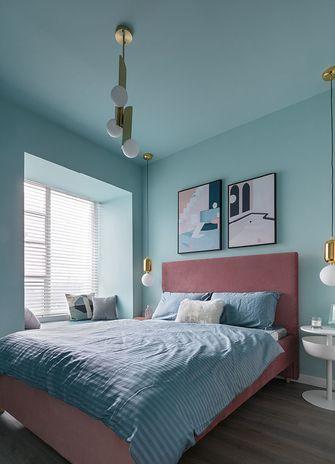 80平米三室三厅北欧风格卧室装修图片大全