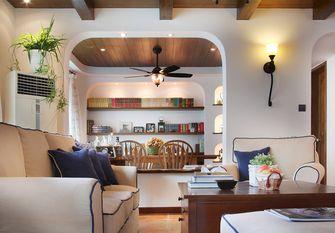80平米地中海风格客厅设计图